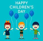 儿童节气球儿童