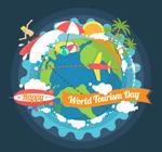 世界旅游日地球