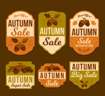 橡子秋季销售标签