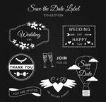 白色婚礼标签