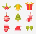 圣诞节物品图标