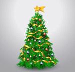 精美装饰圣诞树