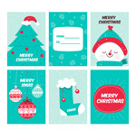 圣诞节卡片矢量