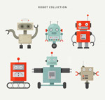 可爱机器人设计