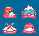 冬季运动标签