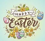 复活节彩蛋艺术字
