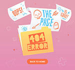 彩绘404错误页