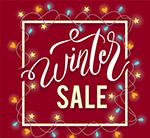 冬季销售艺术字