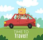 自驾游旅行家庭