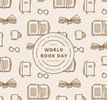 世界图书日背景