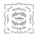 创意婚礼花纹