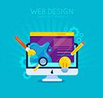 网页设计电脑