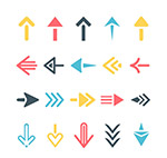 创意箭头图标设计