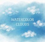 蓝天上的云朵
