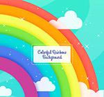 创意质感彩虹