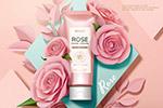 玫瑰花化妆品海报