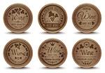 葡萄酒橡木桶标签