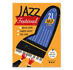 爵士音乐节宣传单