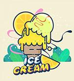 卡通夏季冰淇淋