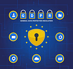 数据保护条例插画