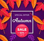 秋季树叶半价促销
