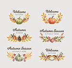 彩绘秋季标签