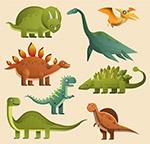 卡通恐龙设计
