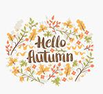 你好秋季树叶