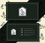 抽象鸟商务名片