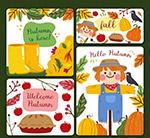 秋季元素卡片