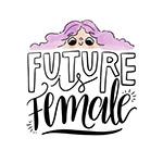 未来是女性艺术字