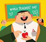 教师节老师和学生