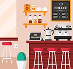咖啡店内部设计