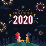 2020新年男女