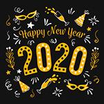 2020年新年艺术字