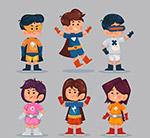 卡通超级英雄装扮儿童