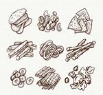 手绘零食设计