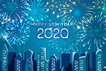 2020城市烟花贺