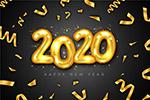 2020年气球艺术字