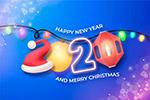 2020圣诞新年艺术