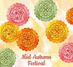 彩绘中秋节月饼