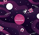 太空宇航员和星球