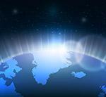 太空中的地球