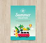 夏季假期传单