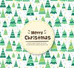 圣诞树无缝背景