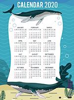 2020座头鲸年历