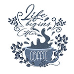 咖啡艺术字