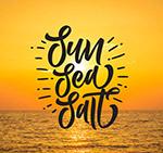 太阳大海沙滩海报