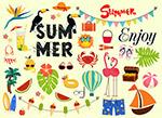创意夏季元素