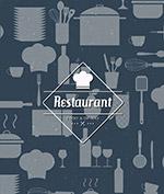 餐馆菜单封面